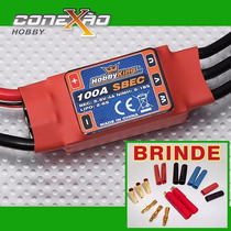 Esc Speed Control Hk 100a C/ Bec Completo + Brinde Exclusivo