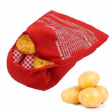 Saco Para Assar Batatas No Microondas Potato Express 4 Min