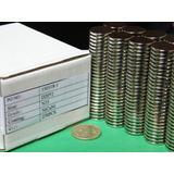 Imanes De Neodimio 20mm X 2mm - 30 Soles X Pack 10 Unidades