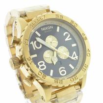 Relógio Nixon Dourado 51-30 Chrono 100% Masculino