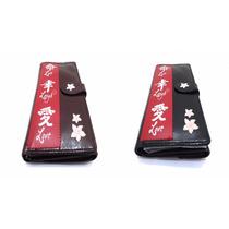 Billetera Porta Documento Dama Fashion Kokesh Diseño Geisha