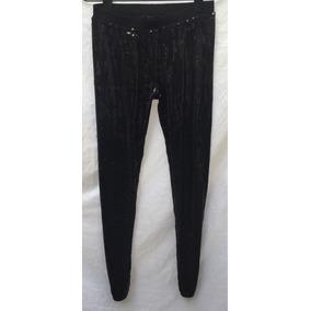 Calza Leggins Pantalon Akiabara Paillettes Negro