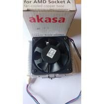 Cooler Processador Amd Soquete A 462 Base De Cobre C03733