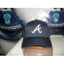 Gorra New Era Beisbol Mlb Los Bravos Atlanta Ajustable Azul