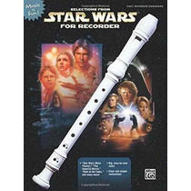 Libro Selections From Star Wars For Recorder (music Is Fun)