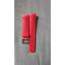 Extensible Nautica Rojo Caucho 22mm Envío Gratis