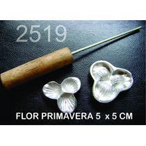 Frisador Modelagem De E.v.a E Tecidos Flor Primavera 2519