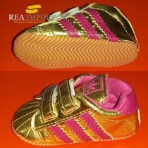 Zapatos Deportivos Para Bebe 6-12 Meses Talla 2 Varon Hembra