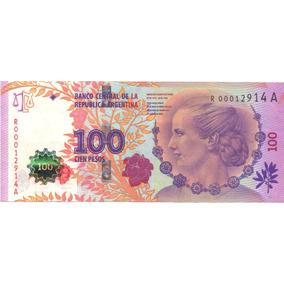 100 Pesos - Eva Perón - Reposición - Bottero C003