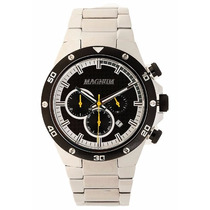 Relógio Magnum Masculino Aço Ma34281