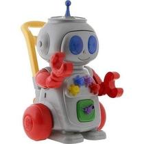 Andador Robo Vermelho Com Luz E Varios Acessorios-magic Toys