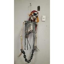 Halloween Calaca Pirata Muerte Craneo Murcielago Solo Envios