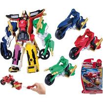 Power Rangers Super Megaforce Motorcycle Lanzadora Bandai