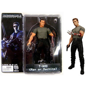 Terminator T-800 Man Or Machine Neca Figura De Coleccion