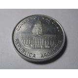 Antigua Moneda Argentina Congreso Nacional 1984 1 Peso