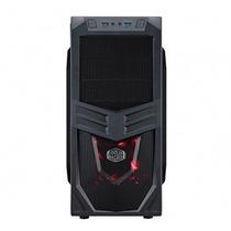 Gabinete Cooler Master Mid-tower K281 Preto 3 Baias Sem Fon