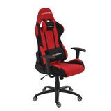 Poltrona Office Pro Gamer Vermelha E Preta Giratória