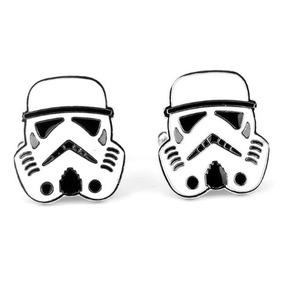 Conjunto De Abotoaduras Formato The Troppers Star Wars