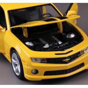 Miniatura Camaro Amarelo Ss Rs 2010 1:24 - Maisto