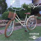Bicicleta Urbana Feminina Retro Vintage Inspired Novello