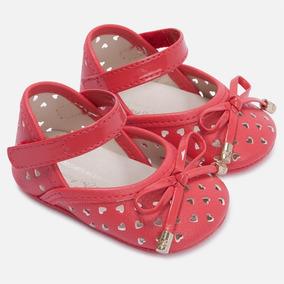 Zapatos De Bebé Mayoral Color Coral