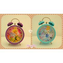 Reloj Despertador A Pila Infantil Niños Disney Mattel Cresko