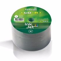 Cd Virgenes Teltron Imprimible Ultra Green Bulk X 50 Und