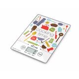 Balanza Electrónica De Cocina Ultra Slim Silfab Bc300 3kilos