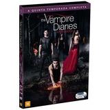 The Vampire Diaries 5ª Temporada - Box Com 5 Dvds - Novo
