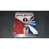 Box 8 Dvds Mulher Maravilha A 2 Temporada Completa