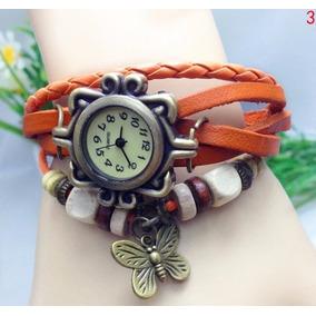 Reloj Pulsera Cuarzo Mujer Vintage Varios Colores