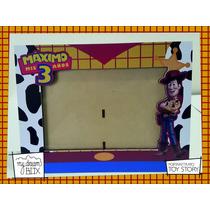 Souvenir Personalizado Portaretrato Madera 10x15cm Toy Story