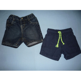 Combo Short Children Place & Carters Para Bebe 6-12m