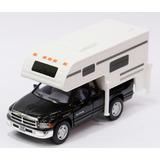 Miniatura Dodge Ram V8 (truck Camper) Preto