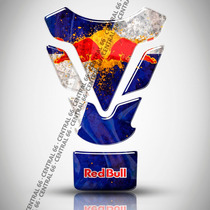 Tankpad Yamaha R1 Red Bull Patrocinio Resinado