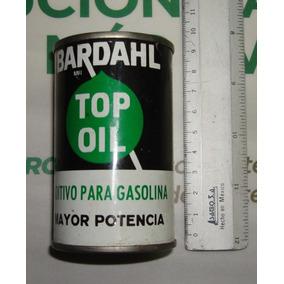 Lata Aditivo Para Gasolina Top Oil Bardahl Vintage