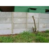 Muro Pre Moldado Metro Linear Ver Frete
