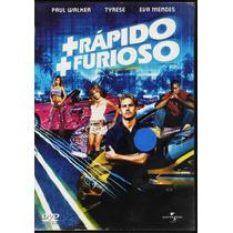 Más Rápido Más Furioso - Paul Walker - Eva Mendes - 1 Dvd