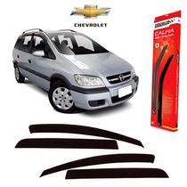 Calha De Chuva Defletor Chevrolet Zafira 2001/2012 4pts Fume