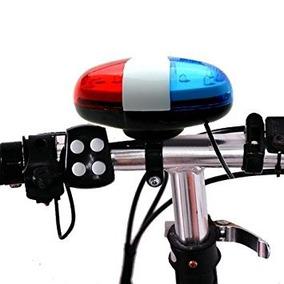 Estiq - Bicicletas Coche De Policía 6 Led De Luz 4 Sonidos