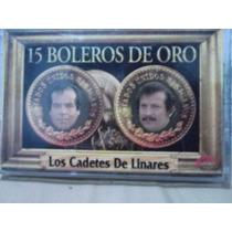 Los Cadetes De Linares - 15 Boleros De Oro (casete Original)