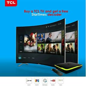 Smart Tv Tcl De 48 Curve Nuevos