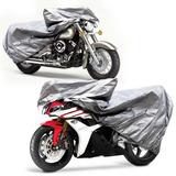 Capa Impermeável Para Cobrir Moto Cbr600 Gs500 Cb500