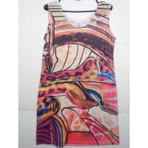 570 Vestido Estampado Señoras Talles 2-3-4-5-