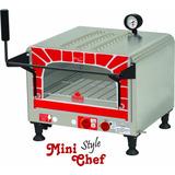 Forno Refratário Mini Chef Style Prp-400 À Gás Progás