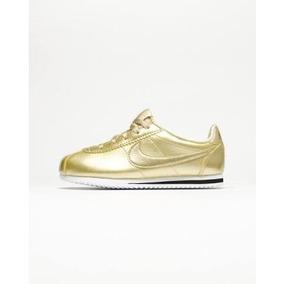 Nike Cortez Dorados