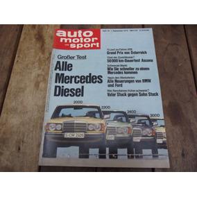 Auto Motor Und Sport Set 1976 Mercedes Diesel 200 220 240