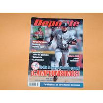 Revista Yankees De Nueva York Campeon Serie Mundial 2000