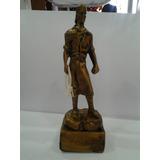 Estatua Laçador 17cm Ref 180 Em Gesso