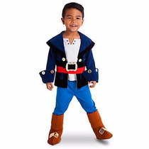 Disfraz Capitán Jake Original Disney Store Usa